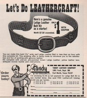 Let's Do Leathercraft | Print Ads
