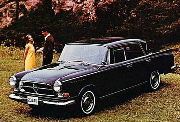 Borgward 230 GL Automatic | Cars