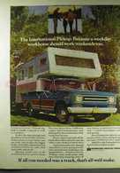 The International Pickup. Because A Weekday Workhorse Should Work Weekends Too. | Print Ads