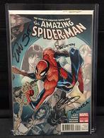 Amazing Spider-Man No. 700 | Comics and Graphic Novels | Signed by Dan Slott, Humberto Ramos, Victor Olazaba and Edgar Delgado.