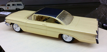 1960  Oldsmobile Ninety Eight Holiday Coupe Promo Model Car | Model Cars