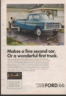 Makes A Fine Second Car. Or A Wonderful First Truck. | Print Ads