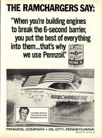 The Ramchargers Say: | Print Ads