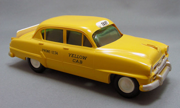 1954 Plymouth Belvedere 4 Door Sedan Taxi Promo Model Car  | Model Cars
