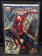 Amazing Spider-Man Vol. 3 No. 1 J. Scott Campbell Variant | Comics and Graphic Novels | Signed by J. Scott Campbell, Dan Slott, Humberto Ramos, Victor Olazaba and Edgar Delgado.