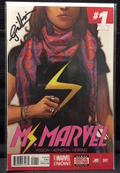 Ms. Marvel Vol. 3 No. 1 | Comics & Graphic Novels | Signed by G. Willow Wilson