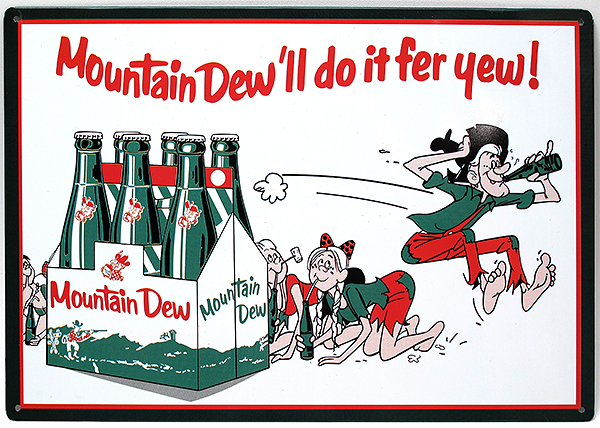 mountain dew ll do it fer yew print ads hobbydb