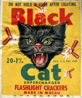 BlackCat Supercharged Flashlight Crackers | Posters & Prints