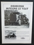 Oshkosh Integre Le Tout | Print Ads