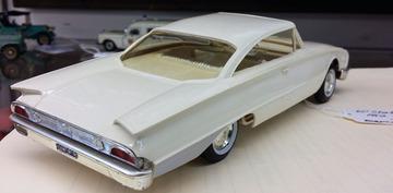 1960 Ford Galaxie Starliner 2 Door Hardtop Promo Model Car  | Model Cars
