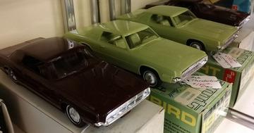 1968 Ford Thunderbird Promo Model Car  | Model Cars