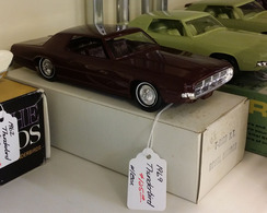 1969 Ford Thunderbird Promo Model Car   Model Cars