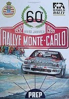 Rally Monte Carlo 1992 Poster | Posters & Prints