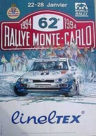 Rally Monte Carlo 1994 Poster | Posters & Prints