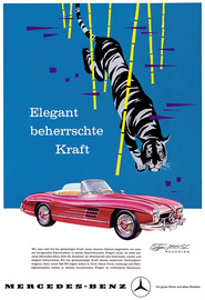 Mercedes benz 300sl ad large