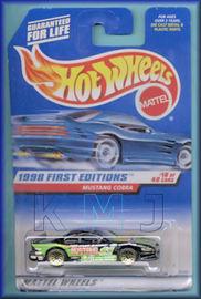 Mustang Cobra    | Model Racing Cars | Caption Text