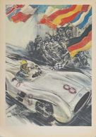 Mercedes Benz Victories 1954 and 1955 | Posters & Prints