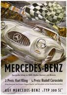 Mercedes-Benz - Der grosse Erfolg im 1000-Meilen Rennen von Brescia | Posters & Prints