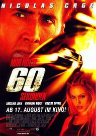 Nur Noch 60 Sekunden One Sheet | Posters and Prints