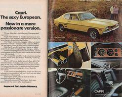 Capri. The Sexy European. Now In A More Passionite Version. | Print Ads