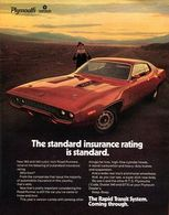 The Standard Insurance Rating Is Standard. | Print Ads