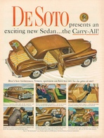 DeSoto Presents An Exciting New Sedan ... The Carry- All! | Print Ads