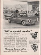 """Fill 'er Up With Regular"" | Print Ads"