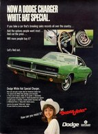 Now A Dodge Charger White Hat Special. | Print Ads