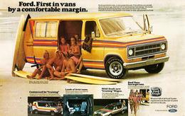 Ford. First In Vans By A Comfortable Margin For 1977. | Print Ads