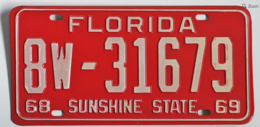 Florida passenger license plate license plates 6f1287bc 5d49 4999 bd86 0aa7229075b2 medium