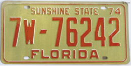 Florida passenger license plate license plates 6e29b88d 9e37 4d93 90c8 a93d834334d3 medium