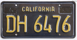 California Trailer License Plate | License Plates | California Trailer License Plate.
