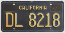California Trailer License Plate | License Plates | California Trailer License Plate