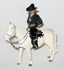 Hopalong Cassidy on Horseback | Figures and Toy Soldiers