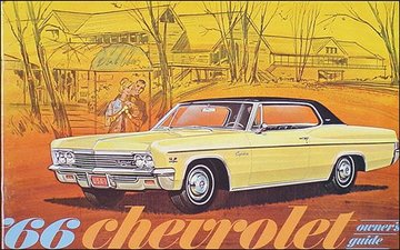 1966 chevy owner manual impala ss bel air caprice and biscayne rh hobbydb com 1969 Chevy Chevelle 1966 Chevy Bel Air