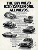 The 1974 volvo is six cars in one. all volvos. print ads f866f2bc e387 4acb 8b5c ecf49cf01451 medium