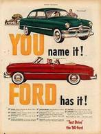 You Name It, FORD Has It! | Print Ads