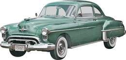1950 Oldsmobile Club Coupe 2 'n 1 | Model Car Kits