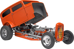 Orange Crate '32 Ford Sedan | Model Car Kits