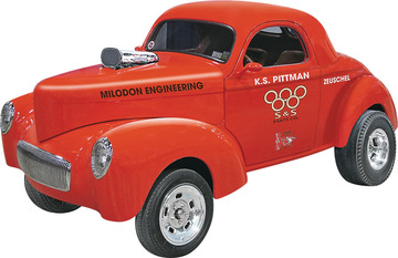 K.S. Pittman Willys Drag Coupe | Model Car Kits