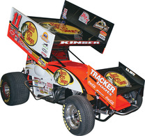 Steve Kinser Bass Pro Shops Sprint Car | Model Car Kits