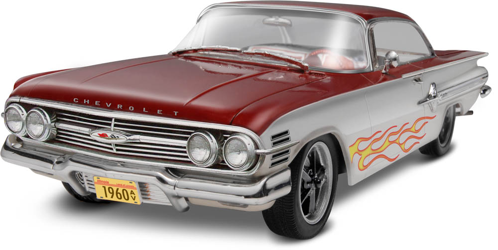 60 Chevy Impala Hardtop 2 N 1 Model Car Kits Hobbydb