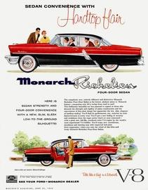 Sedan Convenience With Hardtop Flair   Print Ads