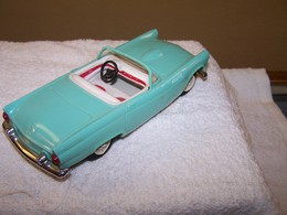 1955 Ford Thunderbird Convertible Promo Model Car | Model Cars | Caption Text