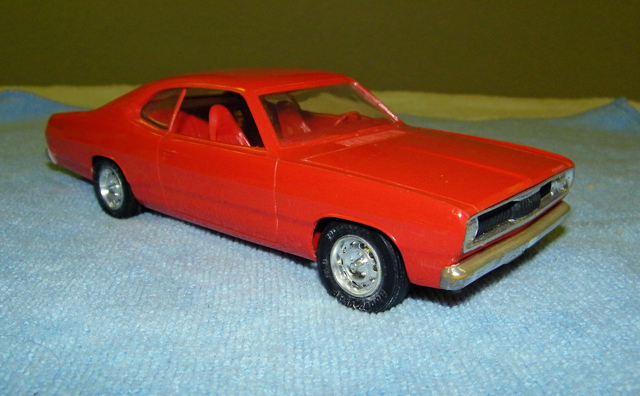 1971 plymouth duster 340 promo model car model cars hobbydb. Black Bedroom Furniture Sets. Home Design Ideas