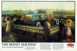 The Money Machine. Class Is A Winner On The Bottom Line. | Print Ads