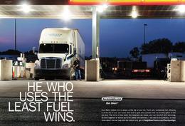 He Who Uses The Least Fuel Wins. | Print Ads