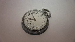Illinois 16 Size Open Face Pocket Watch | Pocket Watches