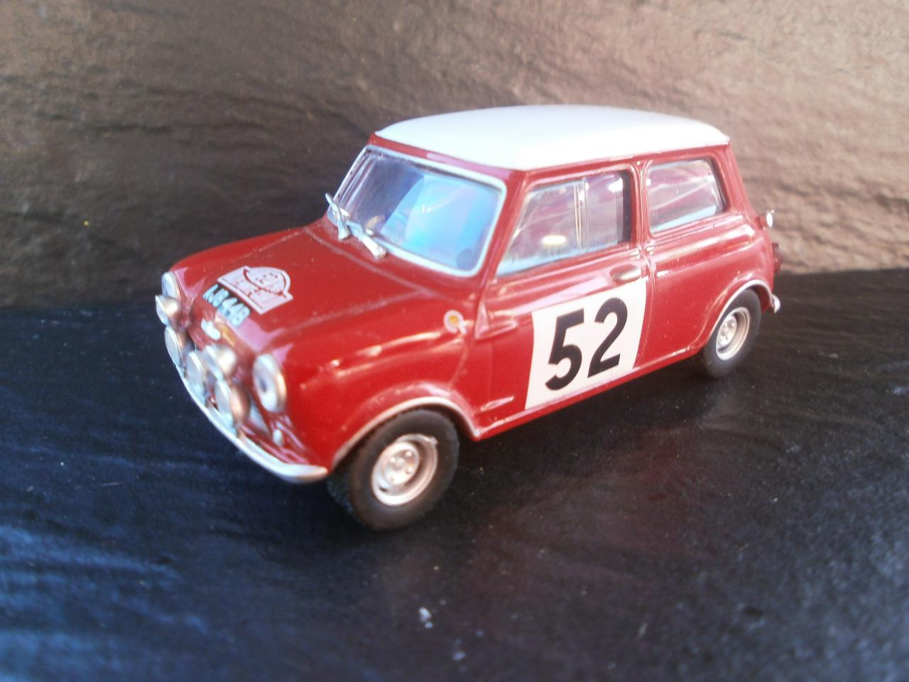 Austin Mini Cooper S Model Racing Cars Hobbydb