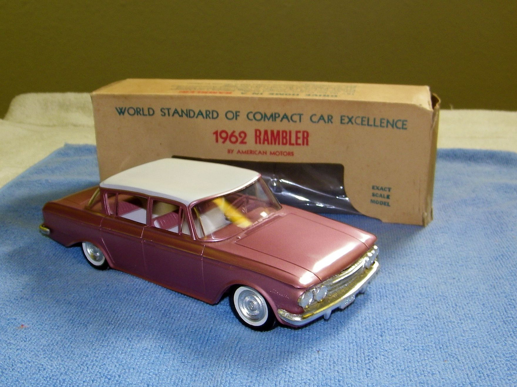 American motors rambler classic 4 door sedan promo model for American classic motor cars